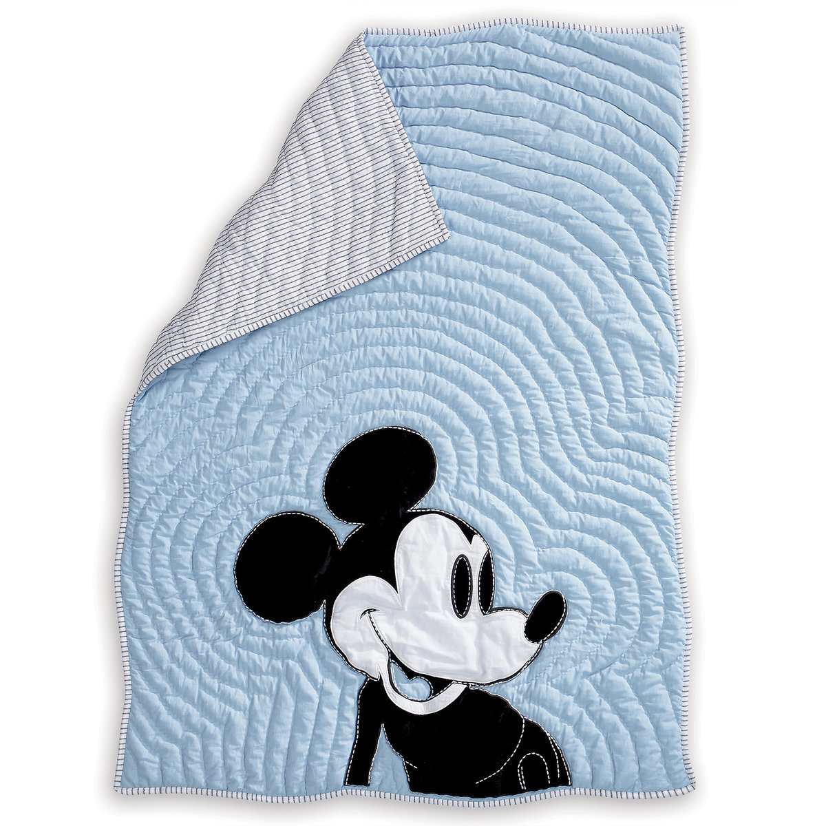 Mickey Mouse Color Toddler Quilt by Ethan Allen | Top 25 Disney Gift Ideas for Toddlers featured by top US Disney blogger, Marcie and the Mouse