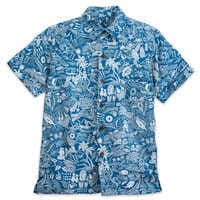 Image of Aulani, A Disney Resort & Spa Aloha Shirt for Boys by Tori Richard # 1