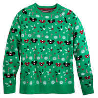 Image of Mickey Mouse ''Ugly'' Sweater for Adults # 1