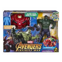 Image of Hulk Out Hulkbuster Action Figure by Hasbro - Marvel's Avengers: Infinity War # 3