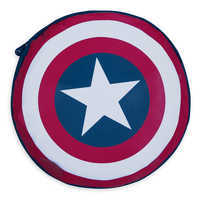 Image of Captain America Packable Rain Jacket and Attached Carry Bag for Kids # 4