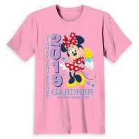Image of Minnie Mouse Family Vacation T-Shirt for Adults - Disneyland 2019 - Customized # 2