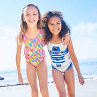 Image of R2-D2 Two-Piece Swimsuit for Girls # 7