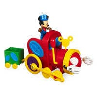Image of Mickey Mouse Push and Go Mouska Train # 1
