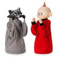 Image of Jack-Jack and Raccoon Boxing Puppet Set - Incredibles 2 # 1