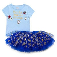 Image of Beauty and the Beast Skirt Set - Tutu Couture - Girls # 1