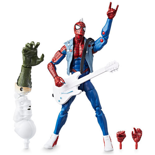 Spider-Punk Action Figure ? Legends Build-A-Figure Collection ? 6''