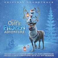 Image of Olaf's Frozen Adventure Soundtrack CD # 1