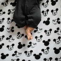 Image of Mickey Mouse Crib Sheet by Milk Snob # 2