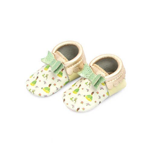 Disney Tiana Moccasins for Baby by Freshly Picked