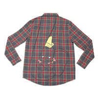 Image of Dumbo Flannel Shirt for Adults by Cakeworthy # 1