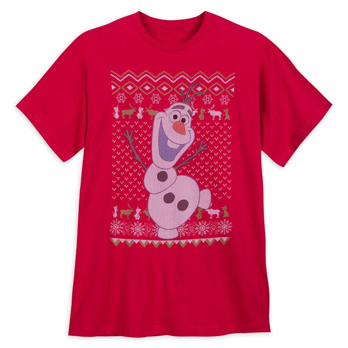 Olaf Holiday T-Shirt for Men - Frozen | shopDisney