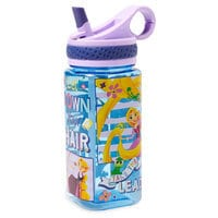Image of Rapunzel Water Bottle with Built-In Straw # 2