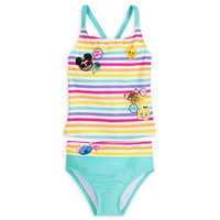 Image of Disney Emoji Swimsuit for Girls # 1