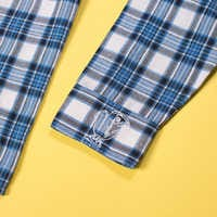 Image of Belle Flannel Shirt for Adults by Cakeworthy # 8