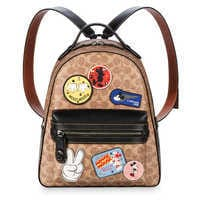 Image of Mickey Mouse Patch Campus Backpack by COACH # 1