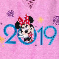 Image of Minnie Mouse Fashion Tee for Girls - Walt Disney World 2019 # 3