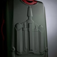 Image of Boba Fett Luggage - Star Wars - American Tourister - Large # 2
