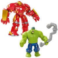 Image of Hulkbuster Deluxe Action Figure Set - Marvel Toybox # 1
