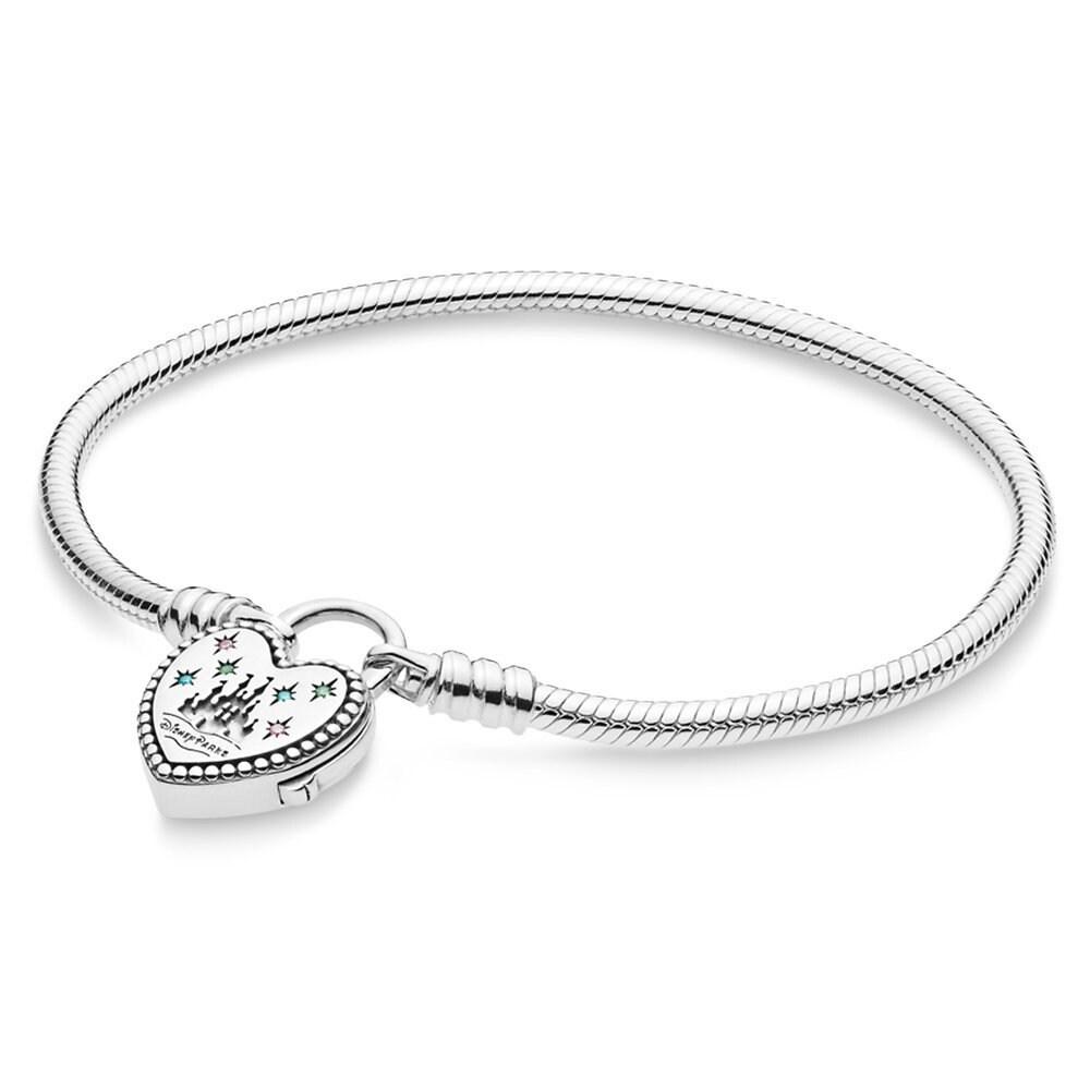 Fantasyland Castle Heart Bracelet by Pandora Jewelry Official shopDisney