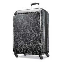 Image of Mickey Mouse Line Art Rolling Luggage by American Tourister - Large # 1