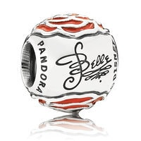 Image of Belle Enchanted Rose Charm by PANDORA # 2