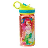 Image of Ariel Water Bottle with Built-In Straw # 1