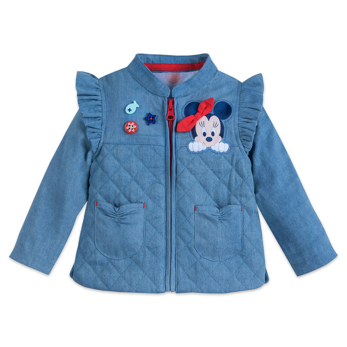 77b88612c Minnie Mouse Zip Jacket for Baby