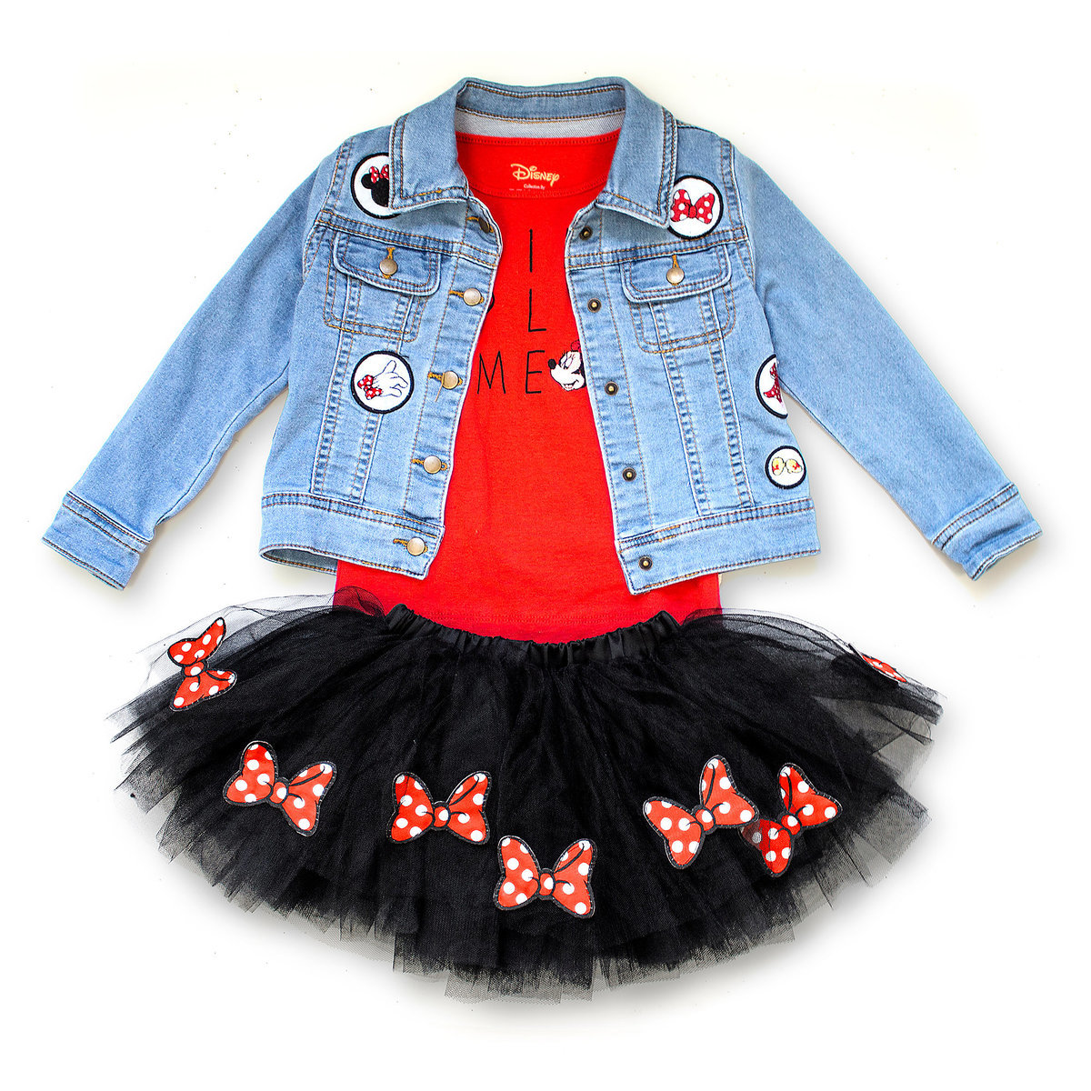 87ad7797b Product Image of Minnie Mouse Skirt Set - Tutu Couture - Girls # 1