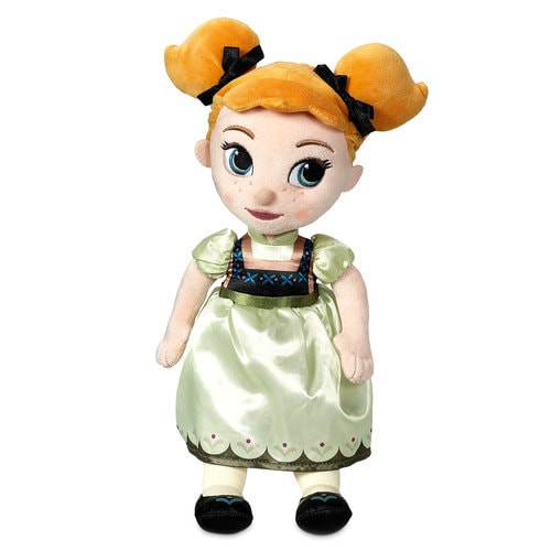 Disney Animators' Collection Anna Plush Doll - Small - 13''