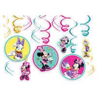 Image of Minnie Mouse and Daisy Duck Swirl Decoration Set # 1