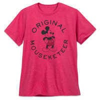 Image of Mickey Mouse Mouseketeer T-Shirt for Men # 1