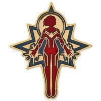 Image of Captain Marvel Limited Release Pin # 1