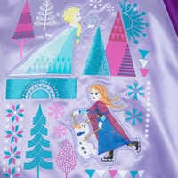 Image of Frozen Varsity Jacket for Girls - Personalizable # 4