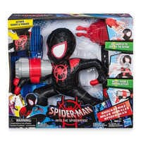 Image of Spider-Man Miles Morales Electronic Action Figure # 4