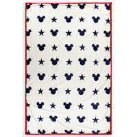 Image of Mickey Mouse Americana Reversible Throw # 2