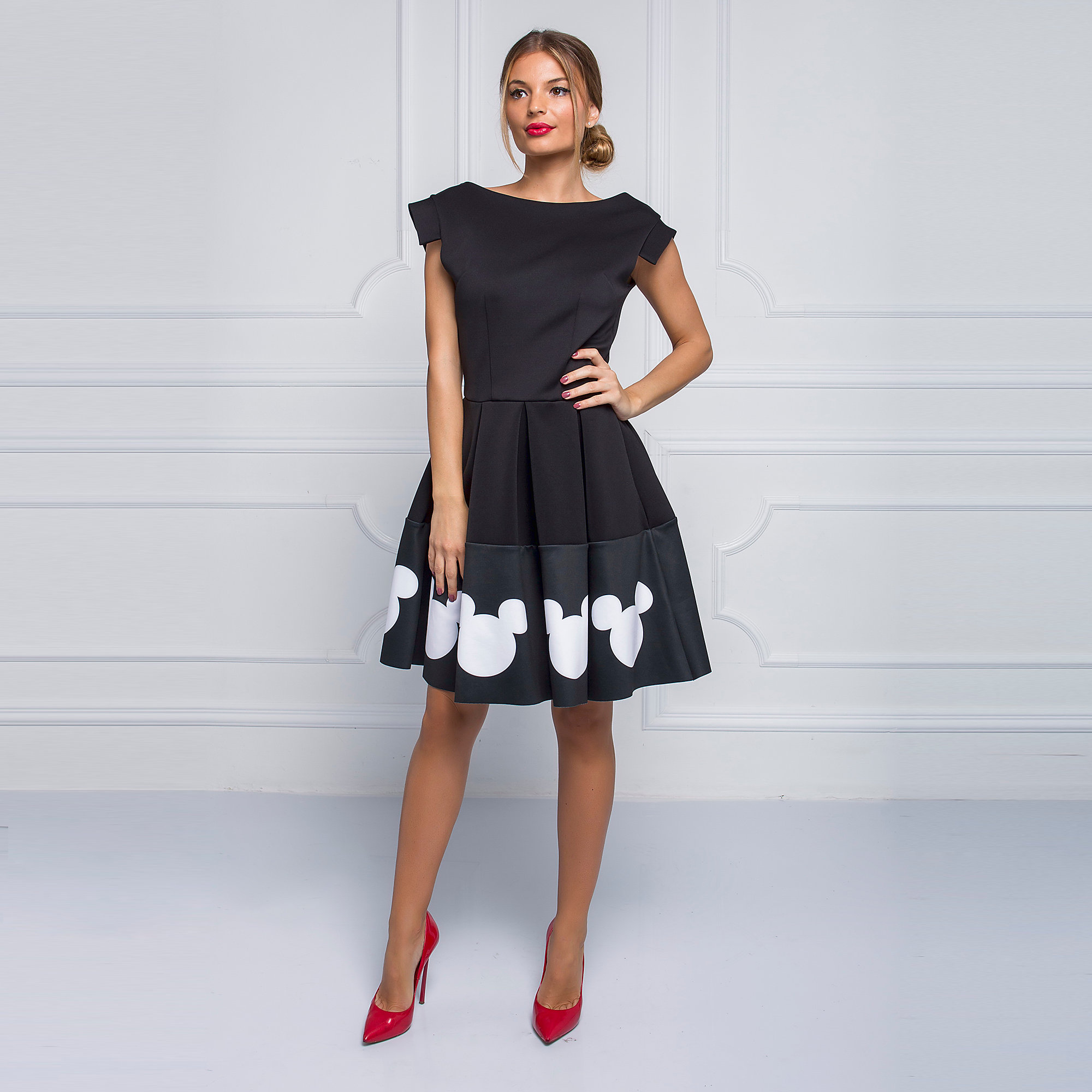 Product Image of Mickey Mouse Icon Dress for Women by Sugarbird # 2  sc 1 st  shopDisney & Mickey Mouse Icon Dress for Women by Sugarbird | shopDisney