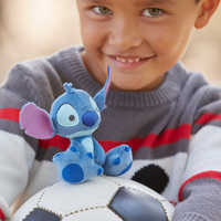 Image of Stitch Tiny Big Feet Plush - Micro # 3