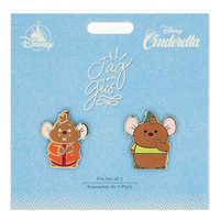 Image of Jaq and Gus Pin Set - Cinderella # 2