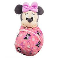 Image of Minnie Mouse Plush in Pouch - Disney Babies - Small # 1