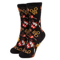 Image of Mickey Mouse Disney Parks Food Icon Cupcake Socks for Kids # 1