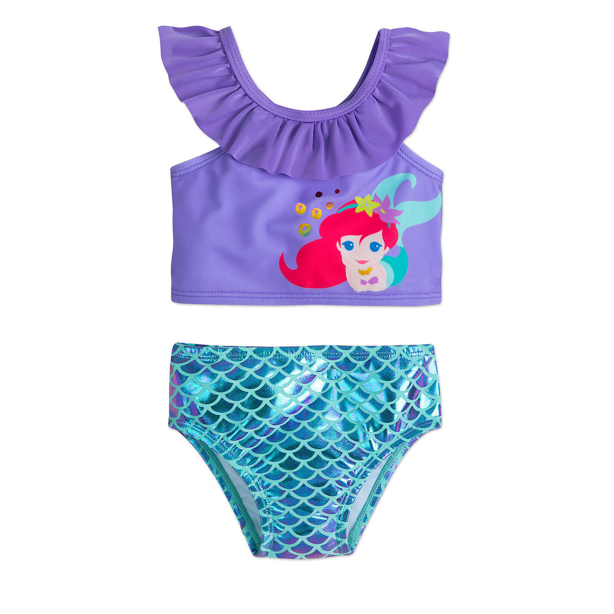 f913d5eb91180 Product Image of Ariel Two-Piece Swimsuit for Baby - The Little Mermaid # 1