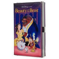 Image of Beauty and the Beast ''VHS Case'' Clutch Bag - Oh My Disney # 1
