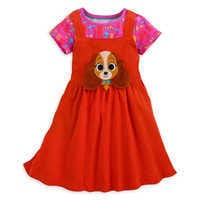 샵디즈니 여아용 원피스 Disney Lady and the Tramp Dress Set for Girls