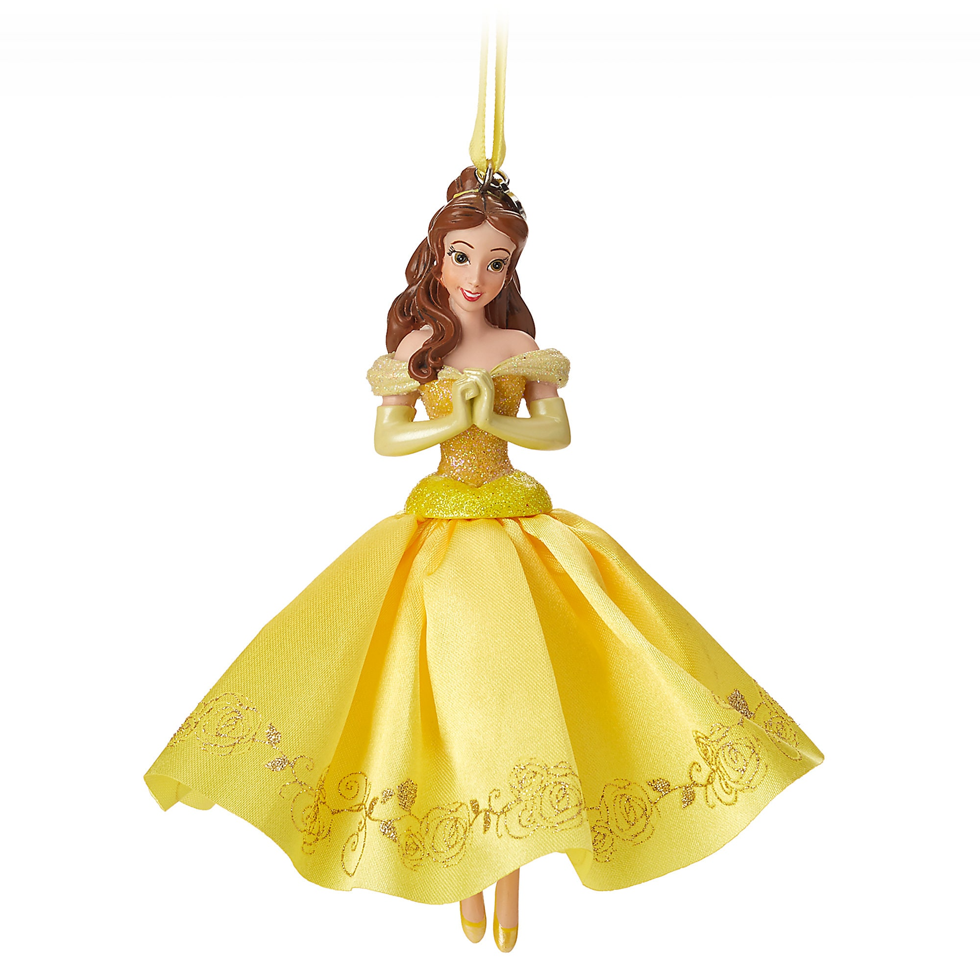 Belle Sketchbook Ornament - Beauty and the Beast