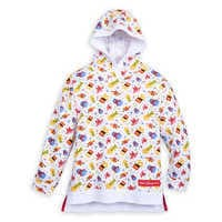 Image of Mickey Mouse and Friends Celebration Pullover Hoodie for Girls - Walt Disney World # 1