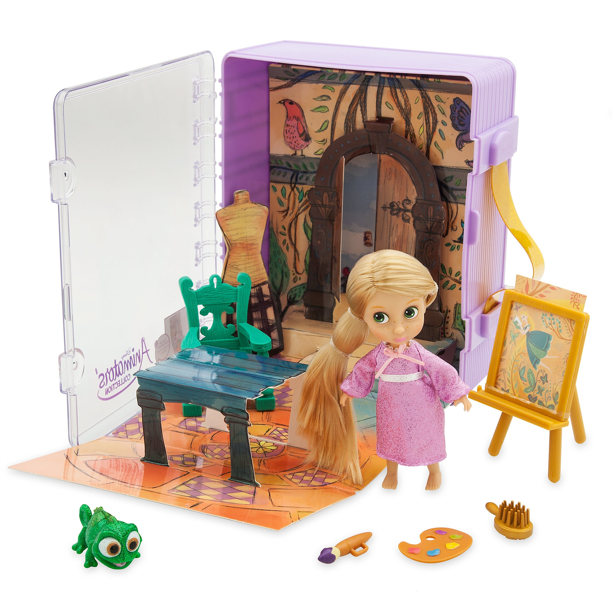 Disney Animators' Little Collection Rapunzel Mini Doll Playset