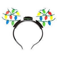 Mickey Mouse Ears Holiday Light-Up Headband