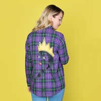 Image of Evil Queen Flannel Shirt for Adults by Cakeworthy # 6
