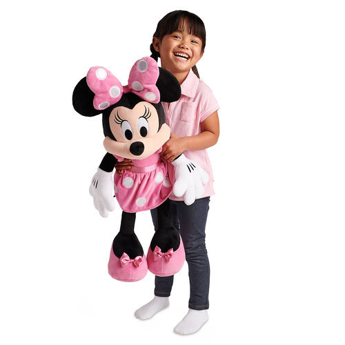Minnie Mouse Plush Pink Large Shopdisney
